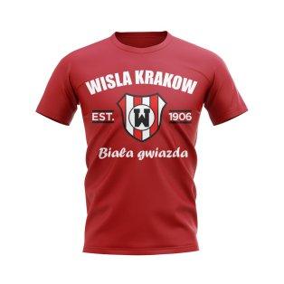Wisla Krakow Established Football T-Shirt (Red)