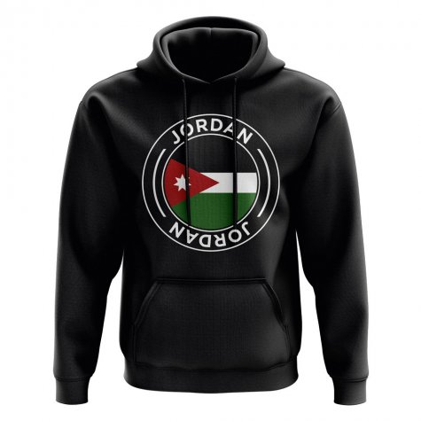 Jordan Football Badge Hoodie (Black)