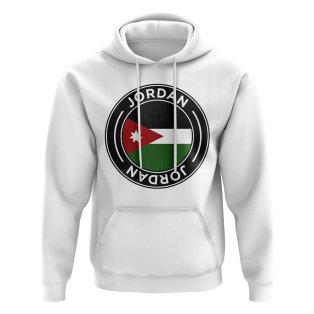 Jordan Football Badge Hoodie (White)