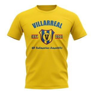 Villarreal Established Football T-Shirt (Yellow)