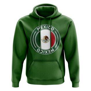 Mexico Football Badge Hoodie (Green)