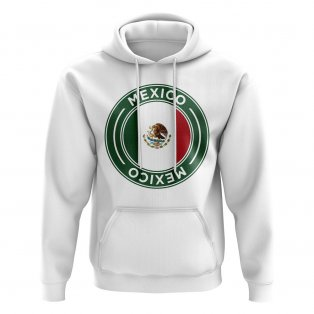 Mexico Football Badge Hoodie (Black)
