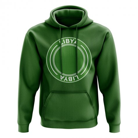 Libya Football Badge Hoodie (Green)
