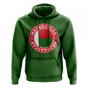 Madagascar Football Badge Hoodie (Green)