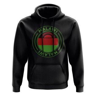 Malawi Football Badge Hoodie (Black)