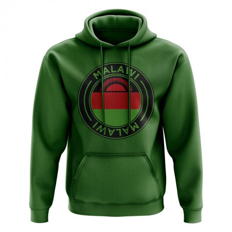 Malawi Football Badge Hoodie (Green)