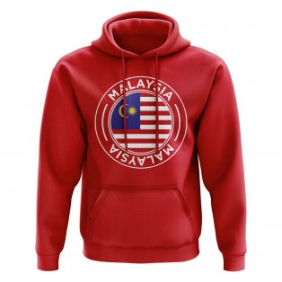 Malaysia Football Badge Hoodie (Red)