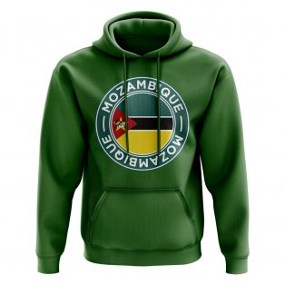 Mozambique Football Badge Hoodie (Green)