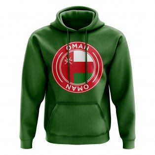 Oman Football Badge Hoodie (Green)
