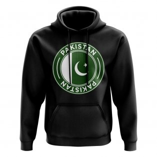 Pakistan Football Badge Hoodie (Black)