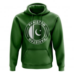 Pakistan Football Badge Hoodie (Green)