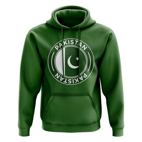 Pakistan Football Badge Hoodie (Green)