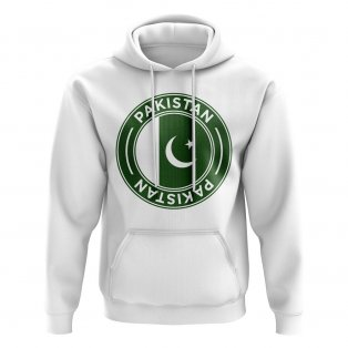 Pakistan Football Badge Hoodie (White)