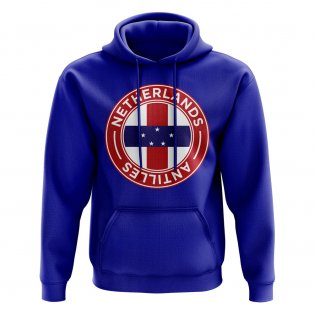 Netherlands Antilles Football Badge Hoodie (Royal)