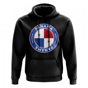Panama Football Badge Hoodie (Black)