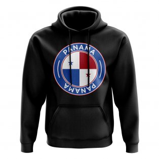 Panama Football Badge Hoodie (Black)