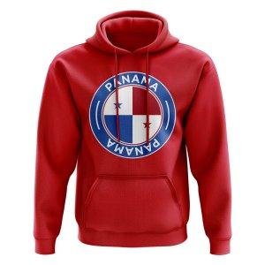 Panama Football Badge Hoodie (Red)