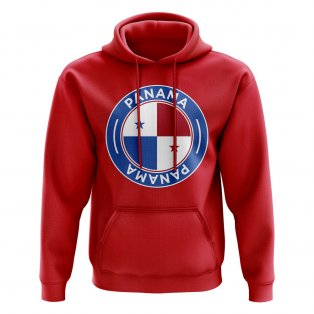 Panama Football Badge Hoodie (Red)