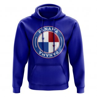 Panama Football Badge Hoodie (Royal)