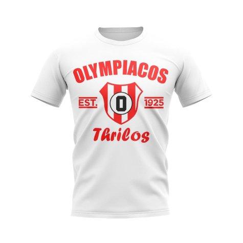Olympiacos Established Football T-Shirt (White)