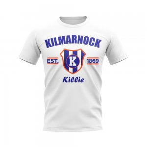Kilmarnock Established Football T-Shirt (White)