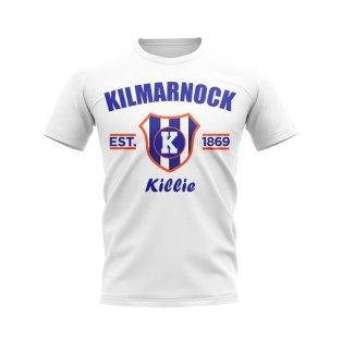 Kilmarnock Established Football T-Shirt (White)