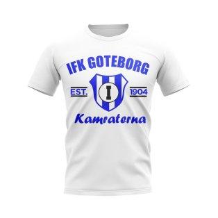 IFK Goteborg Established Football T-Shirt (White)