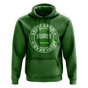 Saudi Arabia Football Badge Hoodie (Green)