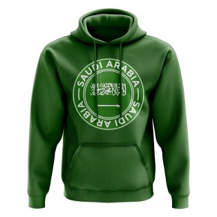 Saudi Arabia Football Badge Hoodie (Green)