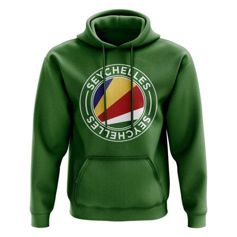 Seychelles Football Badge Hoodie (Green)