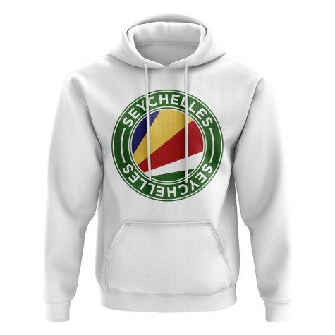 Seychelles Football Badge Hoodie (White)