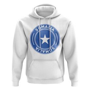 Somalia Football Badge Hoodie (White)