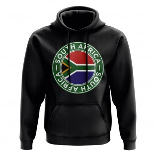South Africa Football Badge Hoodie (Black)
