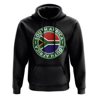 South Africa Football Badge Hoodie (Black)