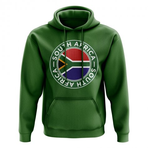 South Africa Football Badge Hoodie (Green)