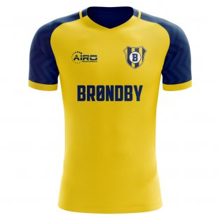 2019-2020 Brondby Home Concept Football Shirt