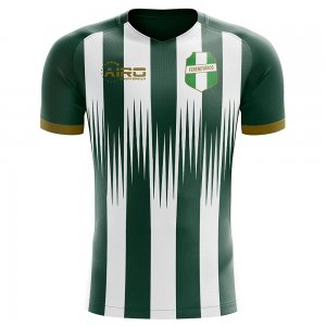 2019-2020 Ferencvaros Home Concept Football Shirt
