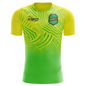 2020-2021 Norwich Home Concept Football Shirt - Little Boys
