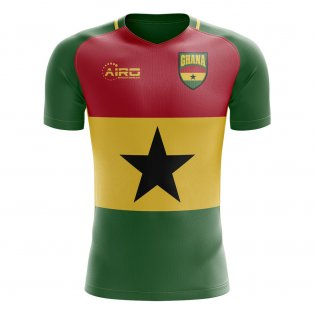 2019-2020 Ghana Flag Concept Football Shirt 4a1651ae0