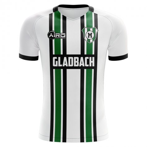 2019-2020 Borussia Monchengladbach Home Concept Football Shirt - Womens
