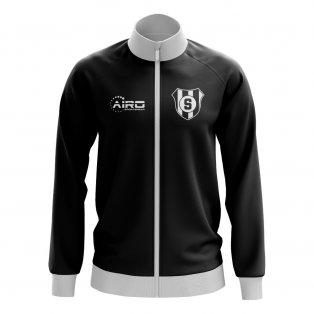 Santos Concept Football Track Jacket (Black)