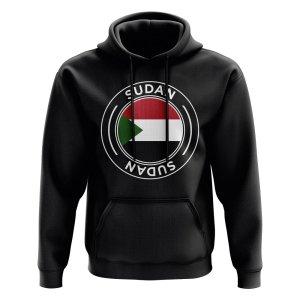 Sudan Football Badge Hoodie (Black)