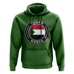 Sudan Football Badge Hoodie (Green)