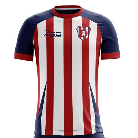 2019-2020 Junior de Barranquilla Home Concept Football Shirt
