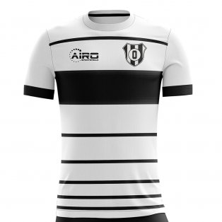 2019-2020 Club Olimpia Home Concept Football Shirt