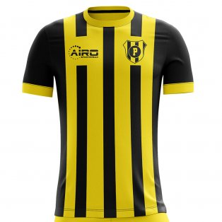 2019-2020 Penarol Home Concept Football Shirt