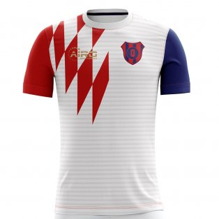 2019-2020 Liga de Quito Home Concept Football Shirt