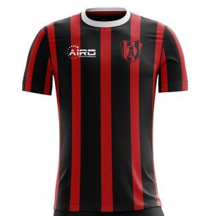 2019-2020 Liga Deportiva Alajuelense Home Concept Football Shirt