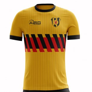 2020-2021 Watford Home Concept Football Shirt