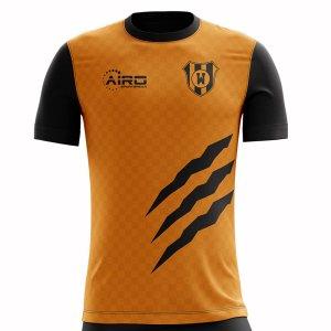 2019-2020 Wolverhampton Home Concept Football Shirt - Womens